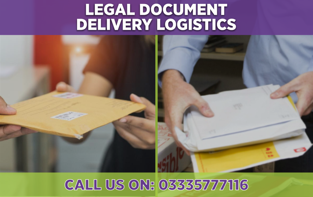 courier service for legal documents