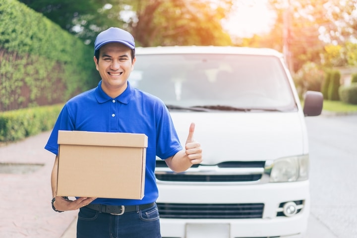Cheapest way to ship the courier in UK